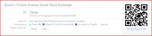 Bit.ly top line information