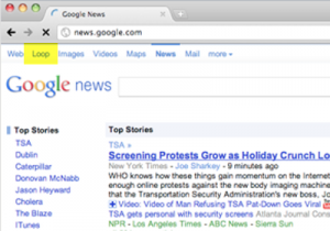 From TechCrunch - Google +1 / Loops