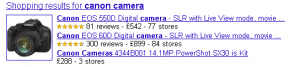 Canon Cameras Shopping results